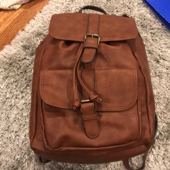 G.H. Bass   Co Bags   Leather Backpack   Poshmark 16e74036ff